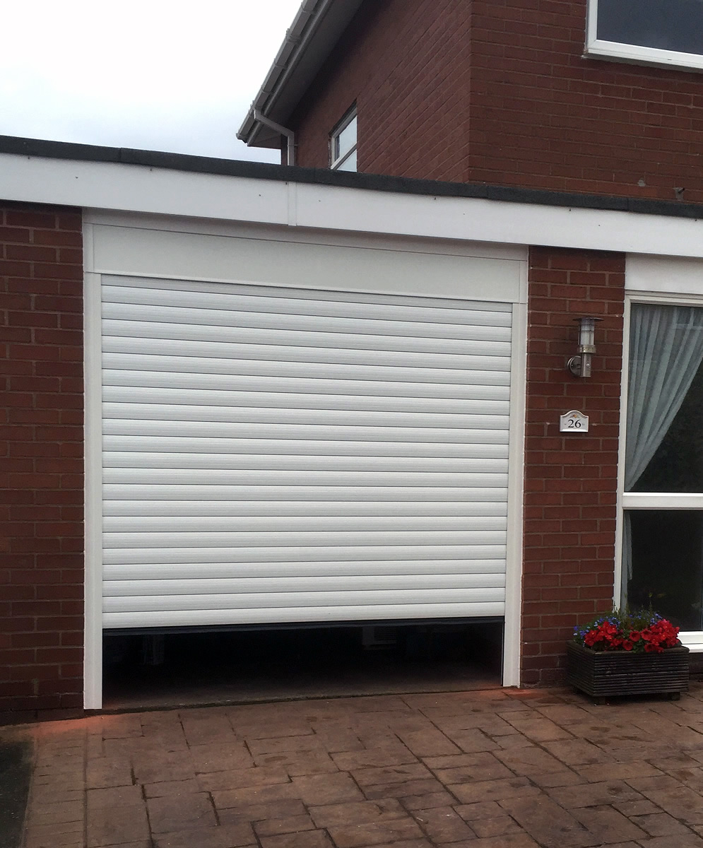 retractable garage doors in cheshire supplied fitted. Black Bedroom Furniture Sets. Home Design Ideas
