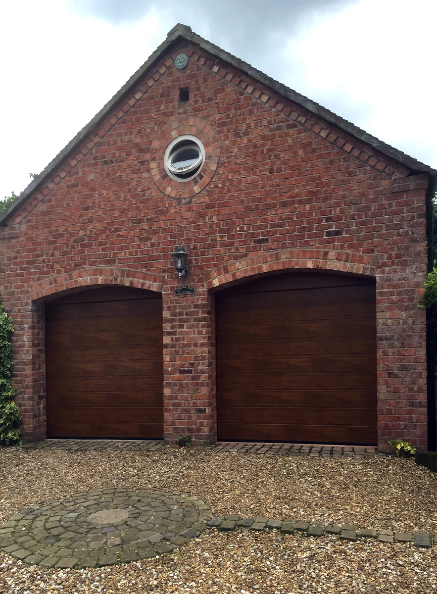 Sectional garage doors in Cheshire - supplied, fitted and repairs