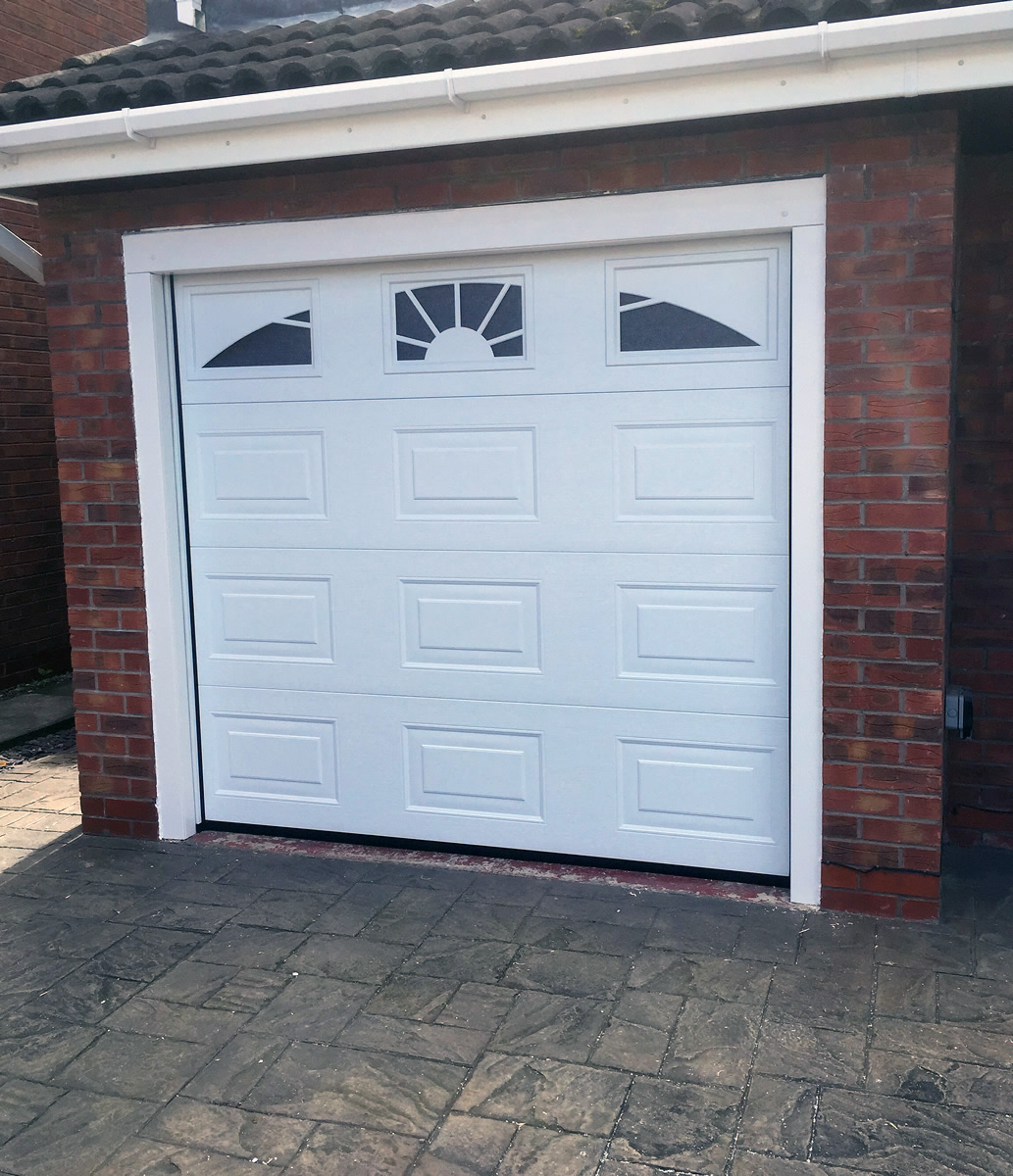 Sectional Garage Doors Product : Sectional garage doors in cheshire supplied fitted and
