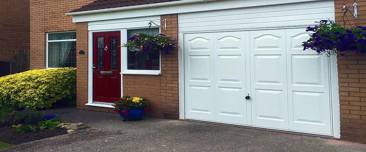 Door Types & Canopy Garage doors in Cheshire - supplied fitted and repairs
