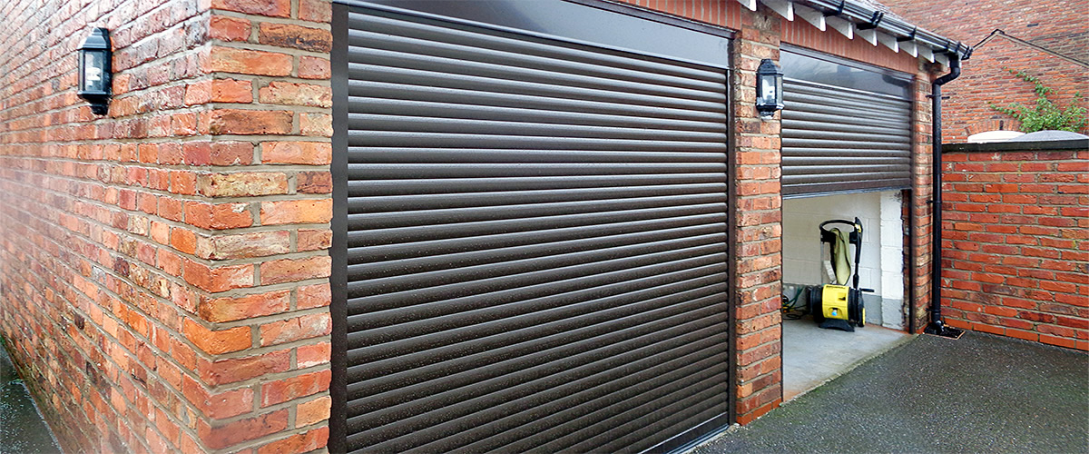 image rolling photo a royalty stock small door metal free garage