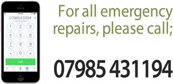 contact us for emergency repairs